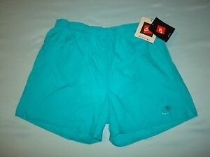 NIKE VINTAGE RUNNING SHORTS 1990s NEW WITH ORIG TAGS GRAY TAG Nylon Gym Medium M