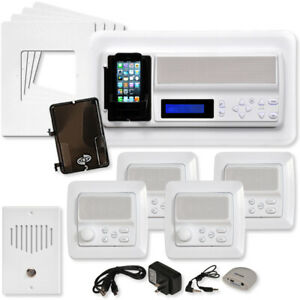 IST RETRO Music & Intercom System Kit White (replace your old NuTone Intercom)