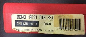 Forster Products Bench Rest Die Set 7mm STW Full Length Dies