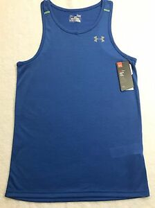 New Under Armour Streaker Singlet Tank Top Running Men's Multi SzeColor 1271822