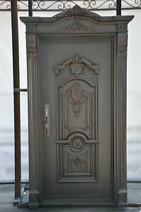 Custom Designed Wrought Iron Entry Door from Monarch Custom Doors 36