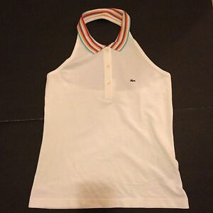 Lacoste Womens Backless Sleeveless Size 42