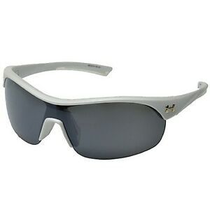 Under Armour Marbella Sunglasses Satin Pearl Frosted Clear