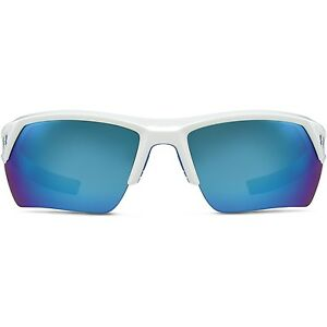 Under Armour Igniter 2.0 Sunglasses Shiny White  Blue
