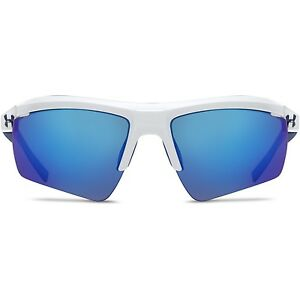 Under Armour Core 2.0 Sunglasses Shiny White  Blue