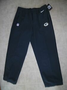 $100 NEW Nike Green Bay Packers Sideline On-Field Stay Dry-Fit Gray Pants 2XL