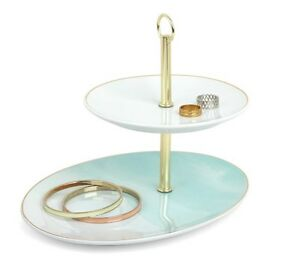 Jewelry Tray Display Necklace Holder and Earring Organizer Tree Case Bracelet