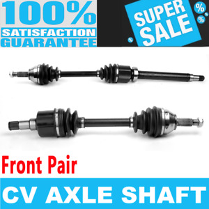 2x Front CV Drive Axle Shaft for FORD FOCUS 00-11 Automatic Transmission