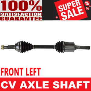 FRONT LEFT CV Axle Shaft For ROGUE 08-13 SELECT 2014 2015 AWD