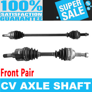 2x Front CV Axle Drive Shaft for CHRYSLER PT CRUISER 01-09 Naturally Aspirated