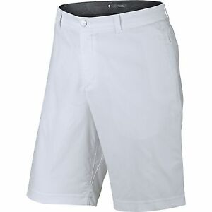 NEW Nike Tiger Woods TW Practice Short 2.0 White 30