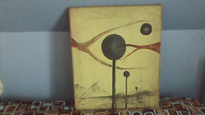 Richie Havens Music Legend Collection Art Painting Woodstock Artist Galaxy Space