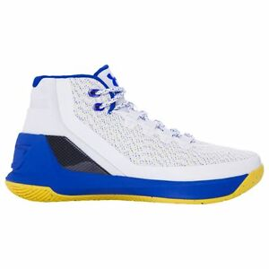 UNDER ARMOUR Curry 3 Boy's Basketball Shoes Dub Ultra Blue - Youth Size 5