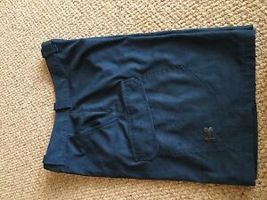 Mens UNDER ARMOUR blue cargo golf athletic shorts Loose 34 ~EUC~