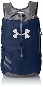 Under Armour Trance Sackpack Drawstring Bag Midnight Navy Backpack GymTravel