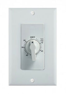 BN-LINK 60-Minute In-Wall Spring Wound Loaded Countdown Timer Mechanical Switch