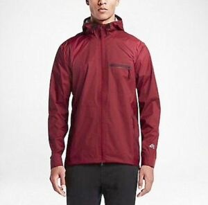 Nwt $250 Men's Nike SB Stay Dry Steele Storm-fit Jacket Red 707816 677 Size L