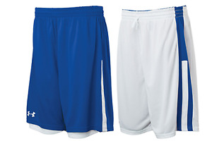 Under Armour Womens Undeniable Reversible Basketball Shorts Royal White $19.99