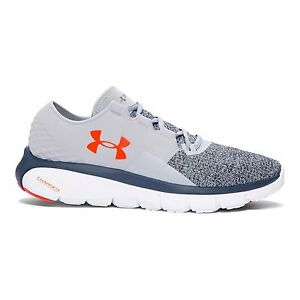 Under Armour Mens UA SpeedForm Fortis 2 Running Shoes 12 OVERCAST GRAY
