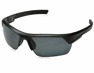 NEW Under Armour Igniter II Satin Black Gray Polarized 8631051 010108 Sunglasses