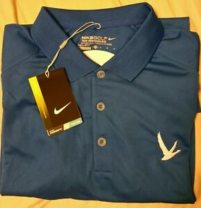 Nike Golf Tour Performance Dri Fit Custom Grey Goose Collection  M Shirt