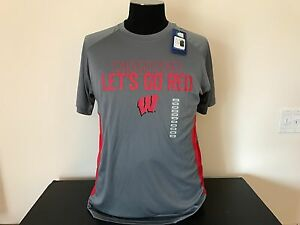 Wisconsin Badgers Dry Fit Shirt (NEW)