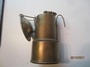 ABERCROMBIE FITCH Carbide miners lamp gold mining light Coal lantern blasting