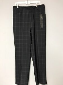 NWT NIKE Golf Pants Wind Water Resist Stay Fit Dry Stretch 34 X 32 Msrp:$75.00