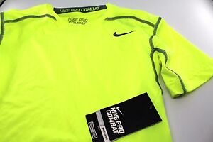 NWT Mens Nike Pro Combat Compression Fit Dry Base Layer T-Shirt 449792 XXXL 3XL
