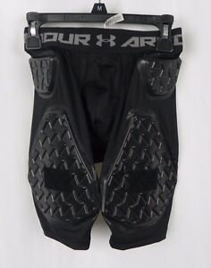 NEW Under Armour Youth Integrated 5 Pad Football Shorts Size M (G1-33)