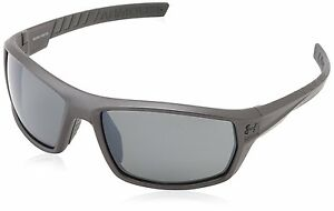 Under Armour Men's Polarized Ranger 8600061-060108 Grey Wrap Sunglasses