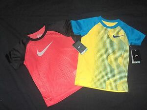 NEW- NIKE Set of 2 Dry-Fit Shirt Stay Cool BoysSz. 6-M (5-6 years)