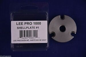 Lee Pro 1000 Shell Plate #1 38 Special 357 Magnum New in Package #90651