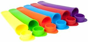 Silicone Popsicle Mold ice Lolly Mold Ice Pop Maker Snack Ice Cream BPA Free DIY