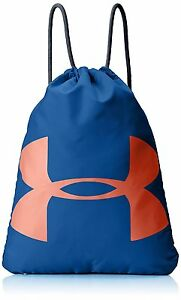 Under Armour Ozsee Sackpack Heron Midnight Navy One Size Backpack Gym Bag Sport