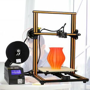 DIY 3D printer Desktop Industrial Grade PLA 0.1mm LCD OnOff-Line FDM Design New