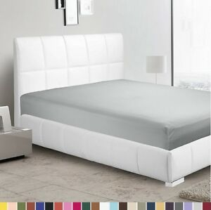 1800 Count Fitted Sheet Fits Deep Pocket Mattresses Full Elastic Around Soft