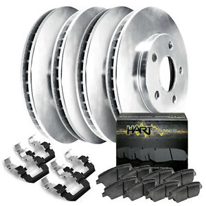 [FULL KIT] HartBrakes REPLACEMENT BRAKE ROTORS AND CERAMIC PADS RBBC.65079.02