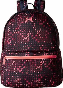 Under Armour Favorite Backpack - Women's Midnight Navy  Brilliance  Pink Sk...