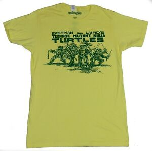Teenage Mutant Ninja Turtles Mens T Shirt Original Turtles Under Logo $24.99