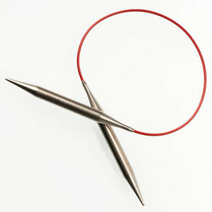 ChiaoGoo Stainless Steel Red Lace Circular Knitting Needles All Sizes $9.00