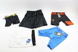 MENS LOT NIKE UNDER ARMOUR & REEBOK SHORTSCOMPRESSION-Small