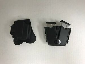 Springfield Armory XDS Accessory Lot OWB Holster Mag Pouch 2 Magazines 9mm