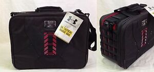 NWT Under Armour Tactical Range Bag Ammo Tote Ballistic Black Shelf FREE US SHIP