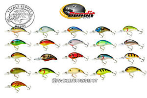 Bandit Crankbait Series 200 BDT2 Bass Pike Walleye Lures 2in 14oz 4-8 FT. Pick