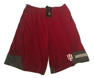 New NWT Indiana Hoosiers Under Armour College Twist Tech Size Large Shorts