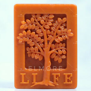 Soap Mold Silicone Craft Tree Rectangle Soap Making Mould DIY Candle Resin Mold $13.19