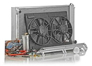 Be-Cool Radiator and Fan Direct-Fit GM AB-Body 1966-79 Auto PN 82008