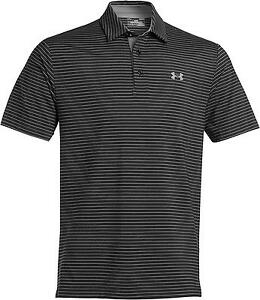 Under Armour Mens Playoff Polo Strips Four Way Stretch Loose Comfort New