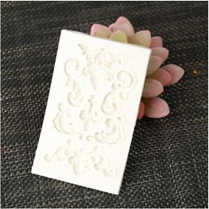 Flower Lace Silicone Lace Border Decoration Fondant Lace Cake Baking Molds Q